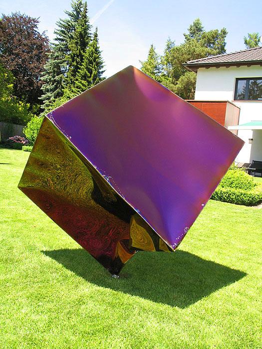 GAHR   Gartenskulptur Aus Edelstahl