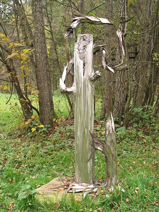 Gartendeko Aus Metall Wie Sie Skulpturen Effektvoll In Szene Setzen