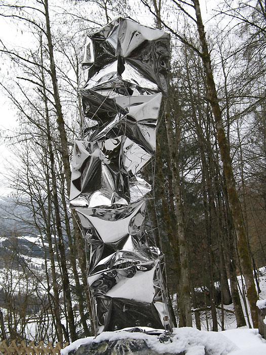moderne gartenskulpturen vom metall k nstler kaufen gahr
