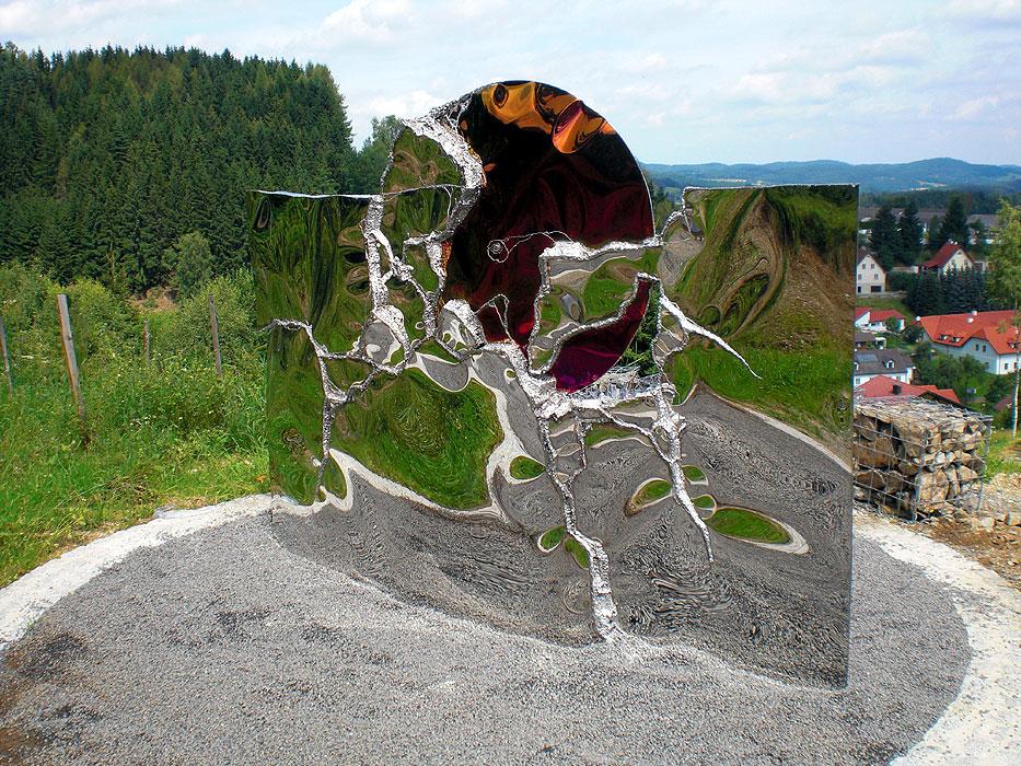 Moderne Gartenskulpturen Vom Metall Künstler Kaufen Gahr