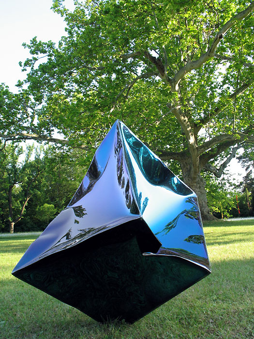 Moderne gartenskulpturen vom metall k nstler kaufen gahr - Gartenskulpturen metall ...
